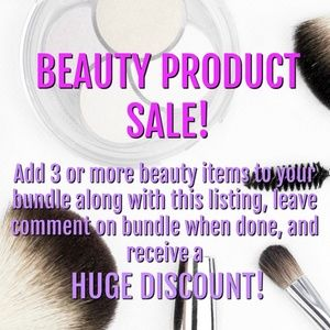 Other - Big Discounts on Beauty Bundles!!